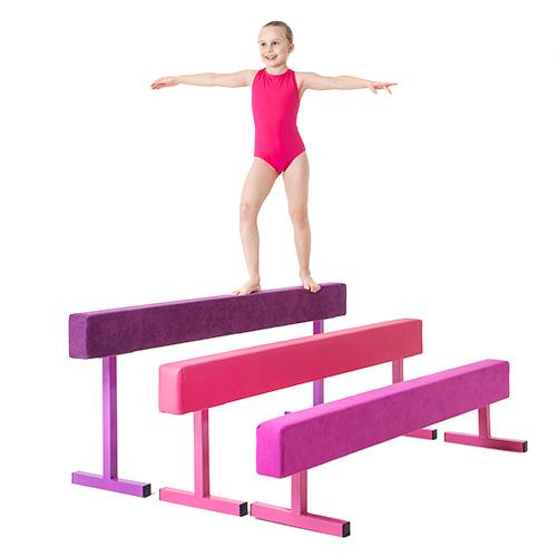 "Purple 18"" Faux Leather High Gymnastics Balance Beam Home ..."