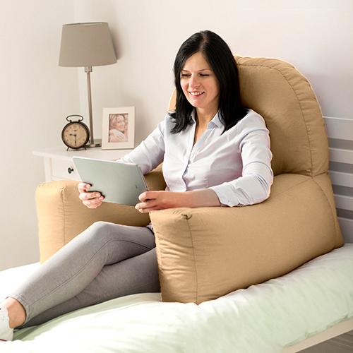 Chloe-Bed-Reading-Bean-Bag-Cushion-Arm-Rest-