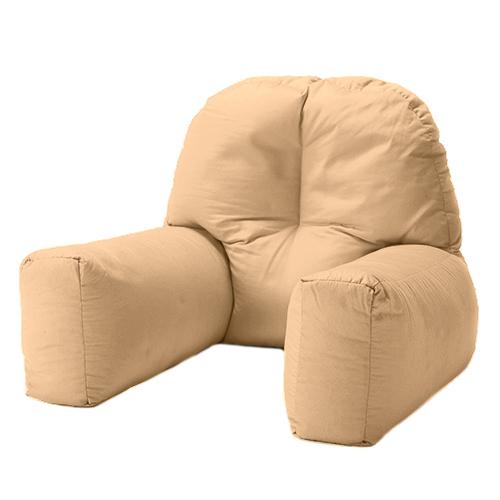 chloe bed reading bean bag cushion arm rest back support pillow rest tv lounger. Black Bedroom Furniture Sets. Home Design Ideas