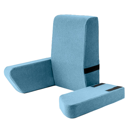 marine una bed rest support pillow reading cushion mobility back support arm ebay. Black Bedroom Furniture Sets. Home Design Ideas
