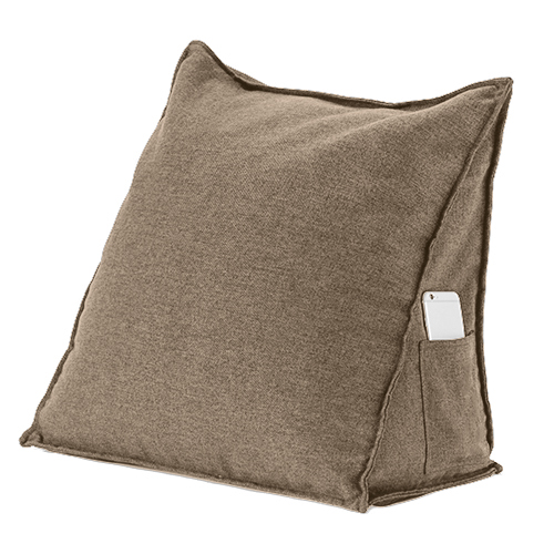 Orthopaedic Back Support Bed Wedge Pillow Bean Bag Cushion