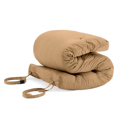 pebble brooklyn roll out fold up futon mattress twill. Black Bedroom Furniture Sets. Home Design Ideas