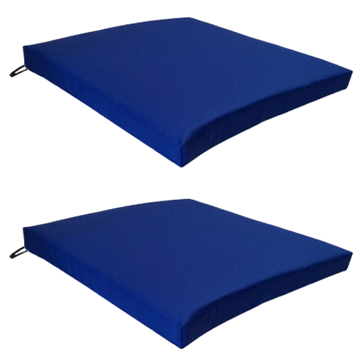 Blue 2 Pack Seat Chair Cushion Outdoor Garden Tie On  : G120Seat20pad20Blue202pk from www.ebay.co.uk size 512 x 512 jpeg 125kB