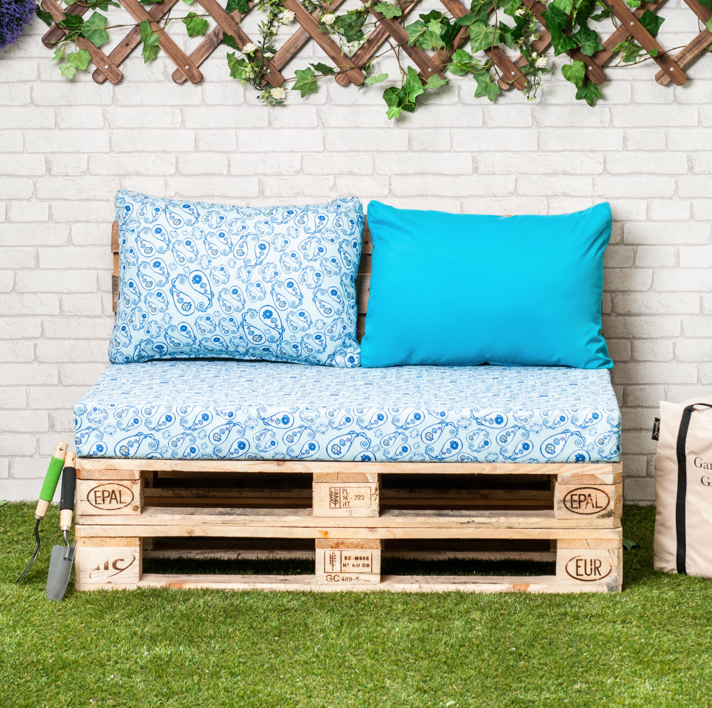 Designer Prints Euro Pallet Seating Cushion Pads Garden Patio