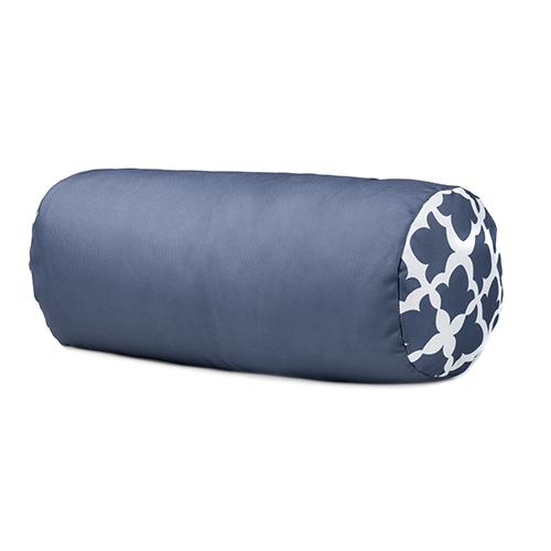 Round Bolster Pillow Outdoor Water Resistant Garden Furniture Cushion Zip Cov