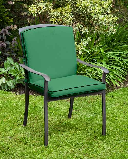 Replacement Cushion for Homebase Lucca Metal Garden Patio Dining Chairs Outdo