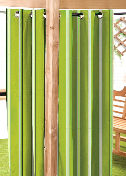 Lime 55 Quot X96 Quot C6927 Outdoor Water Resistant Garden Curtains