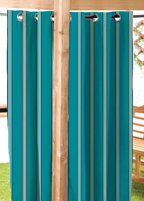 Turq 55 X108 C6927 Outdoor Water Resistant Garden Curtains Patio P