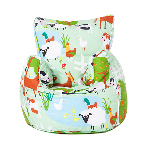 Children 39 s toddler bean bag armchair seat kids beanbag for Kids tv chair