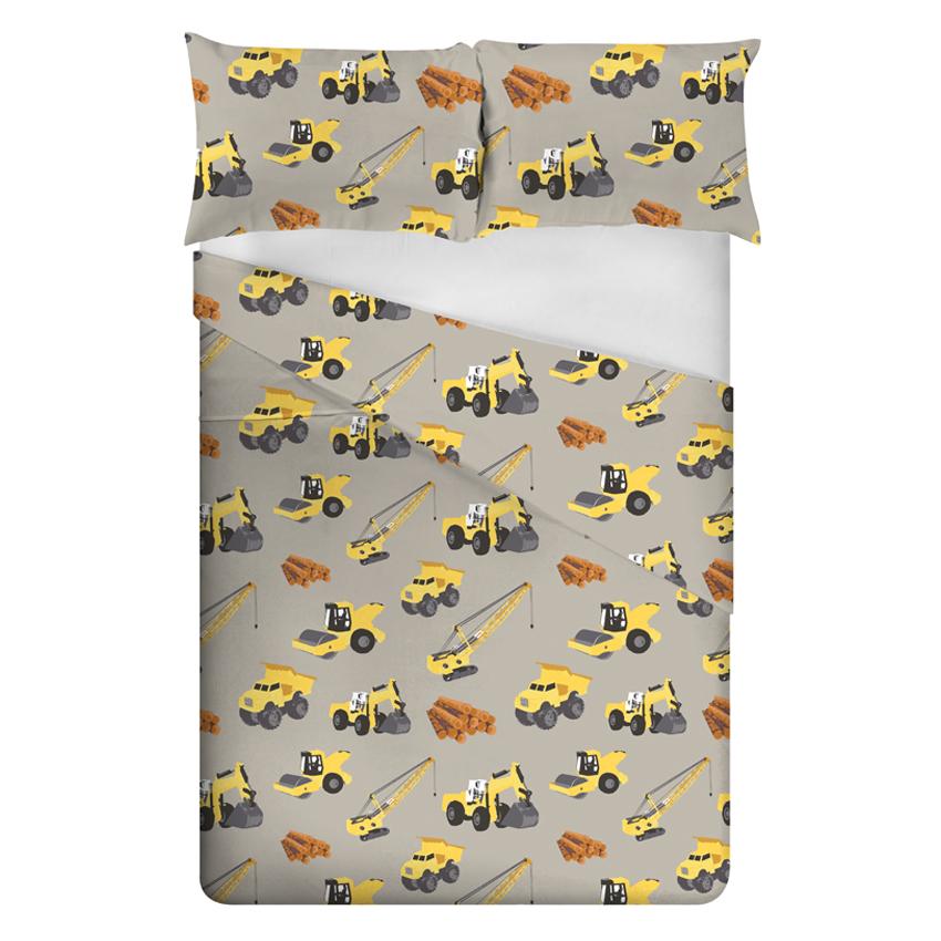 Childrens Double Duvet Quilt Cover Set Amp Pillow Case