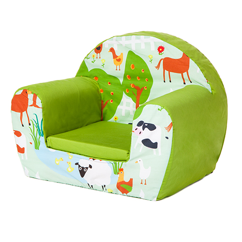 Children foam armchair soft seating chair seat kids for Toddler foam chair