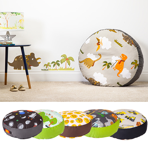 Childrens Giant Floor Cushions Soft Foam Filled Seat
