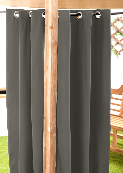 "waterproof outdoor curtain eyelet panel 55"" garden décor drapes"