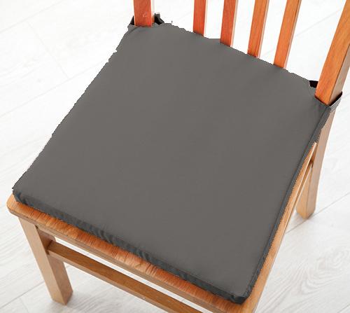Siège Pad Coussin avec fermeture velcro salle à manger chaises de cuisine en coton doux Sergé