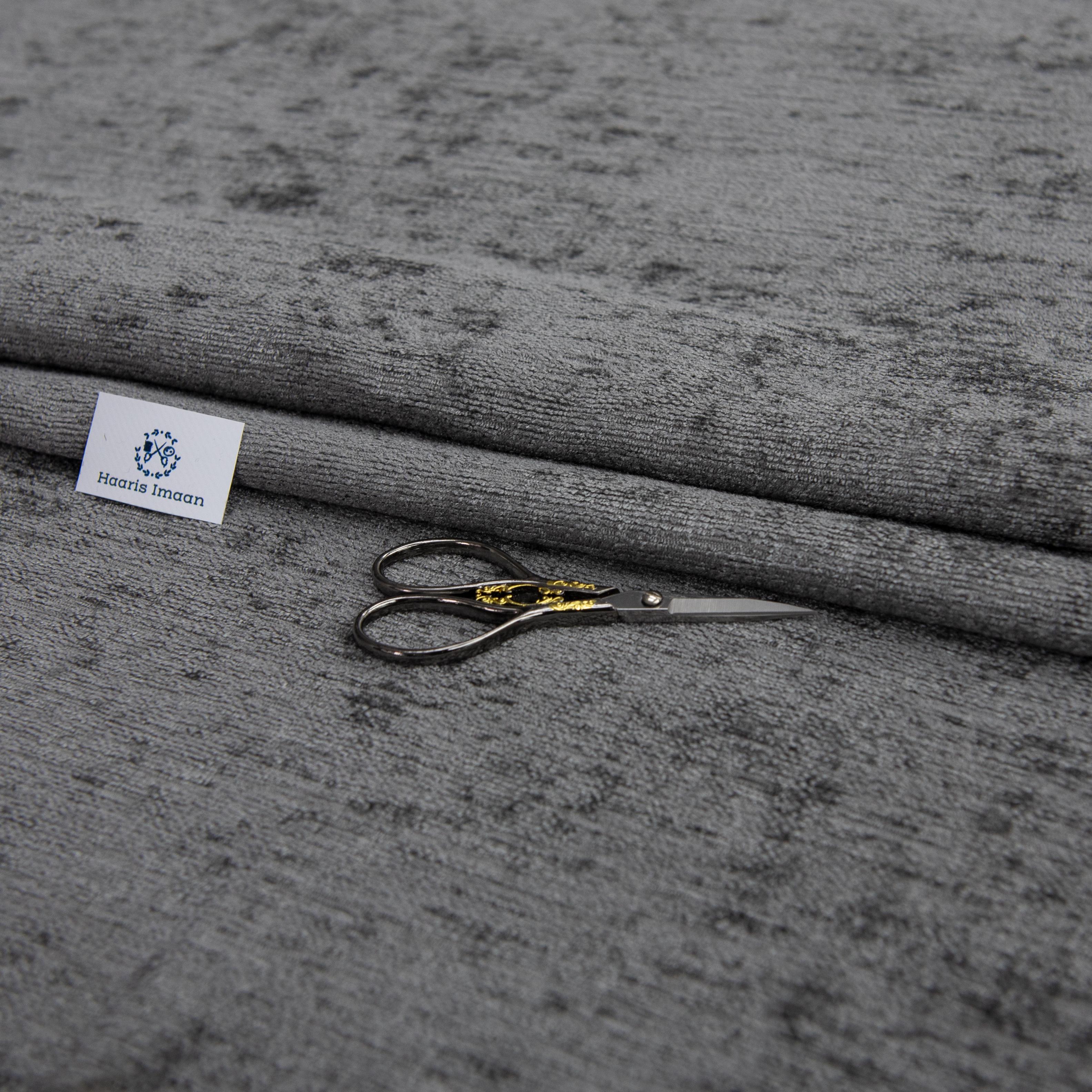 rideau et coussin Luxe recouvert de tissu chatoyant Chenille Poids Lourd