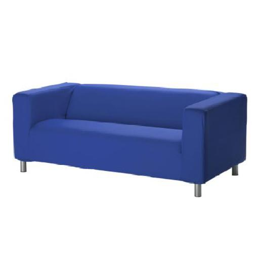 Custom Cover Slipcover To Fit Ikea Klippan 2 Seater Sofa Settee Replacement Ebay