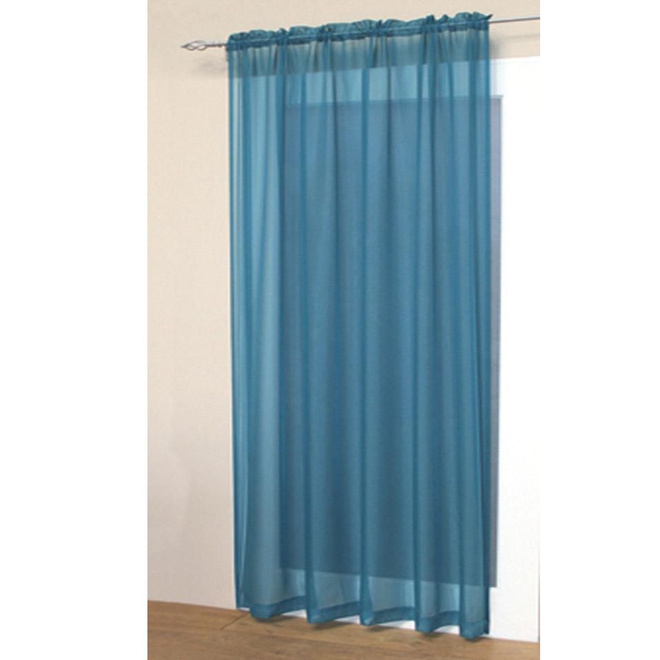 voile net slot top rod pocket curtain panel bedroom kitchen living room curtains ebay. Black Bedroom Furniture Sets. Home Design Ideas