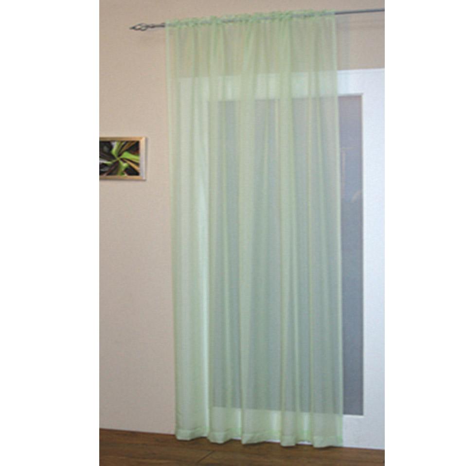 Voile Net Slot Top Rod Pocket Curtain Panel  Part 53