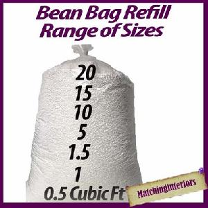 Bean Bag Re-Fill Filling Booster Polystyrene Beads Chair Bags Balls Living Room