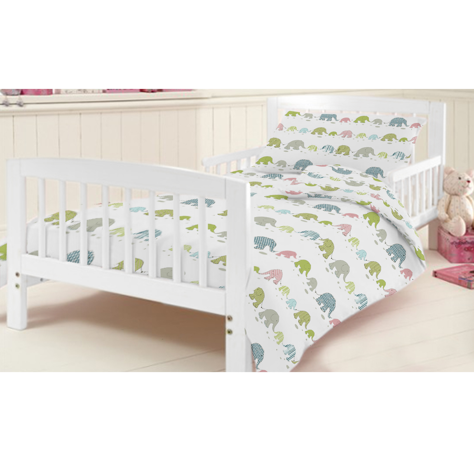 ready steady bed children s kids cot bed junior duvet cover bedding