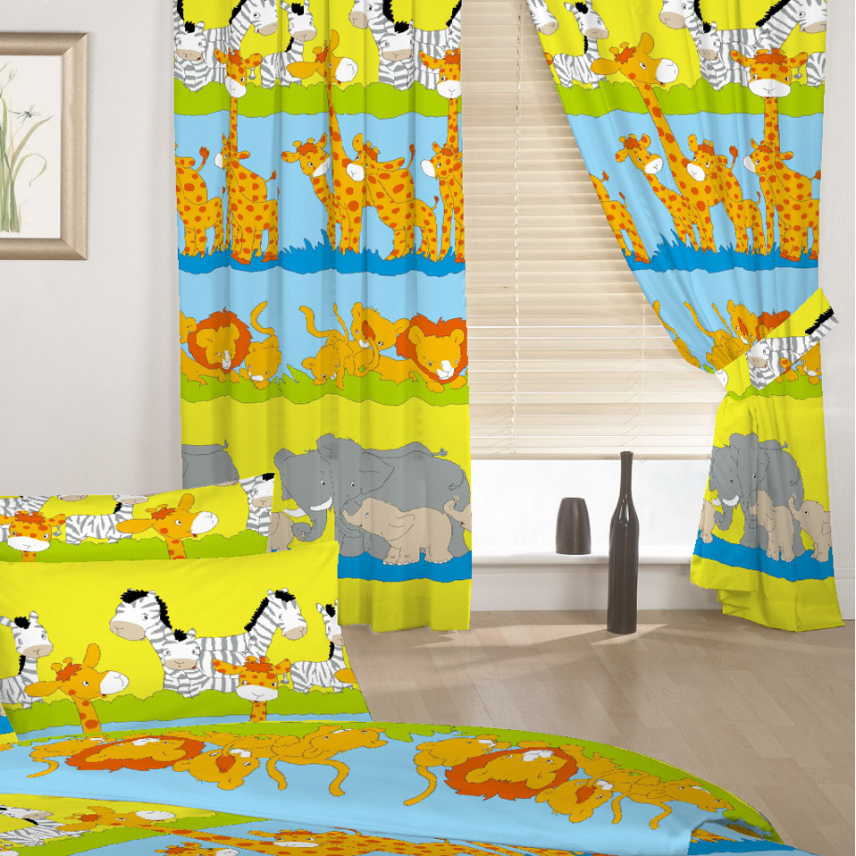 Children S Kids Duvet Quilt Covers Or Curtains In A Choice