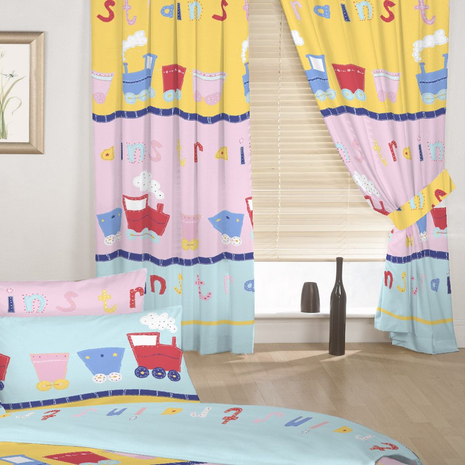 Curtains childrens room