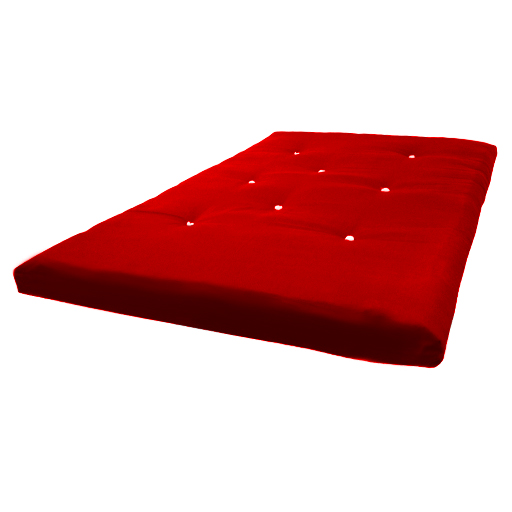 ALL SIZES REPLACEMENT FUTON MATTRESS 9 COLOURS FREEPOST