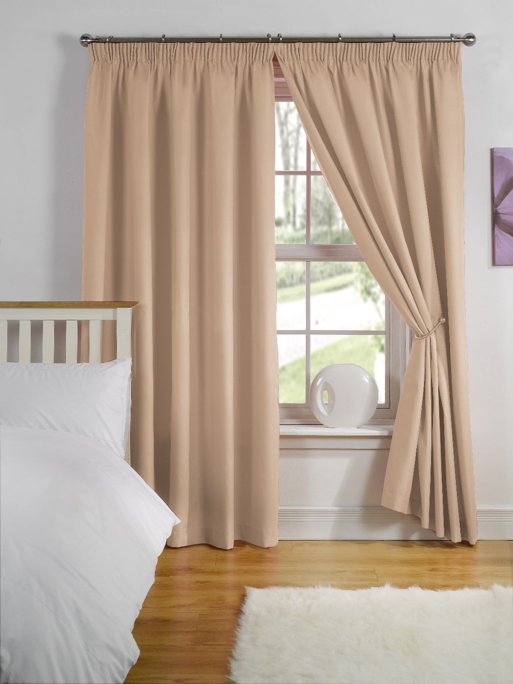 Cheap Childrens Kids Nursery Blackout Thermal Lined Boys Girls Curtains