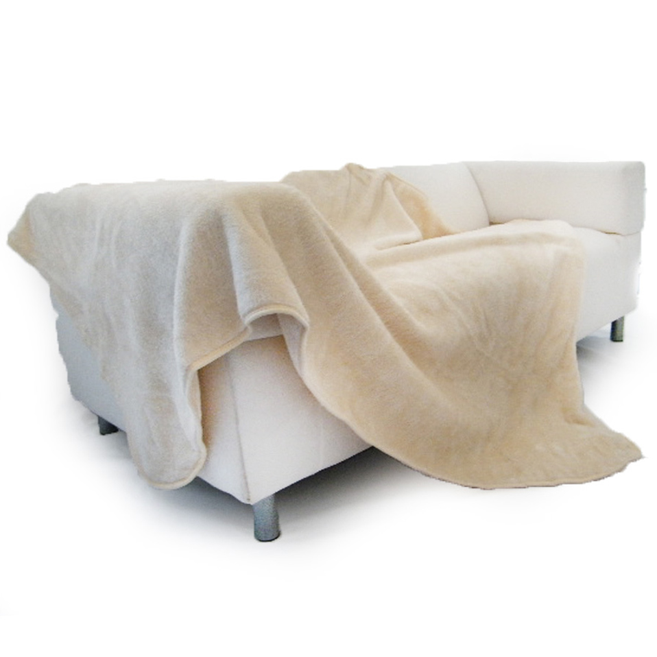 Luxury faux fur mink blanket fleece throws for settee sofa for Fur throws for sofas