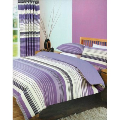 4pc-Complete-Duvet-Quilt-Cover-Set-Fitted-Sheet-Pillow-Case-Bedding-Bed-Linen