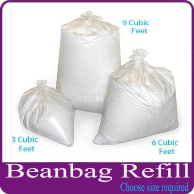 Bean Bag Top Up Refill Beads Filler Filling Free Post