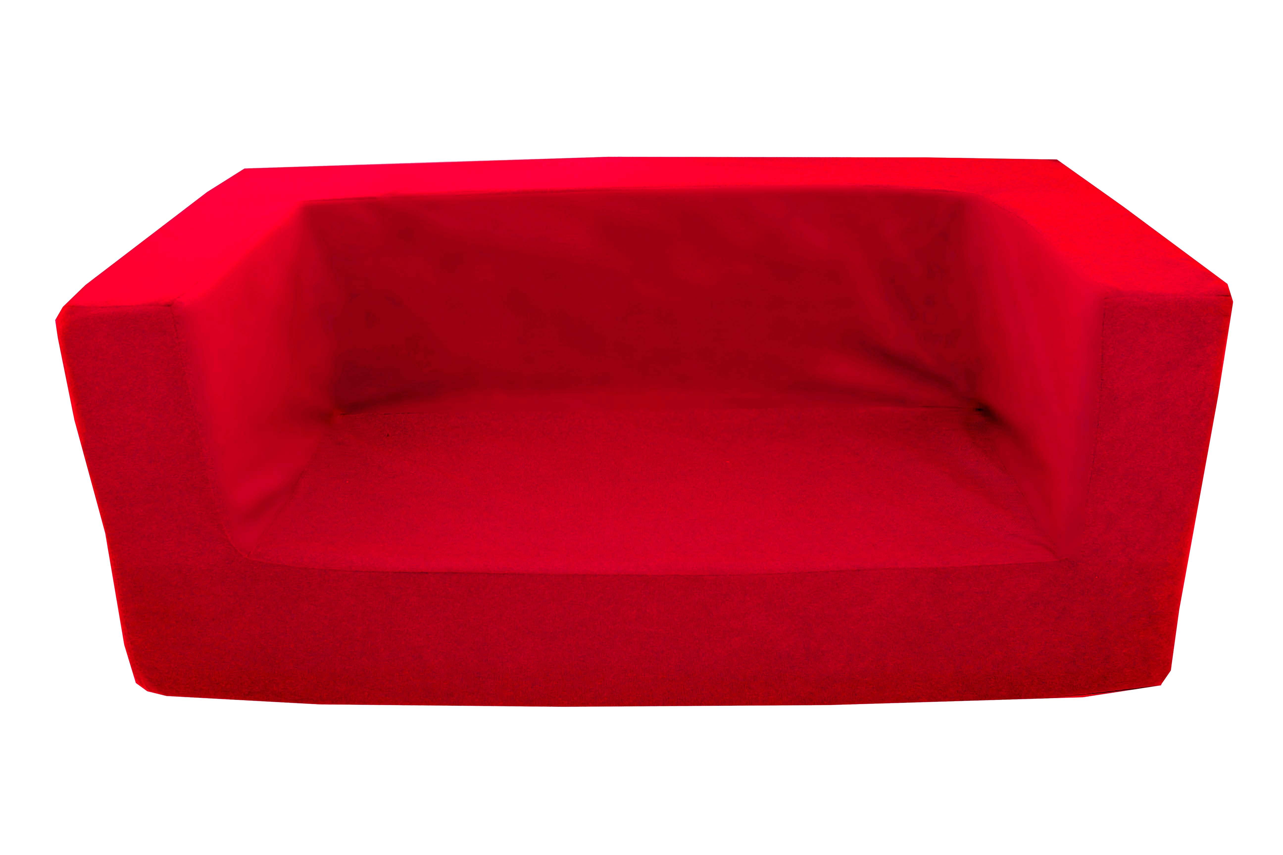 Kids Children S Double Comfy Settee Toddlers Foam Sofa