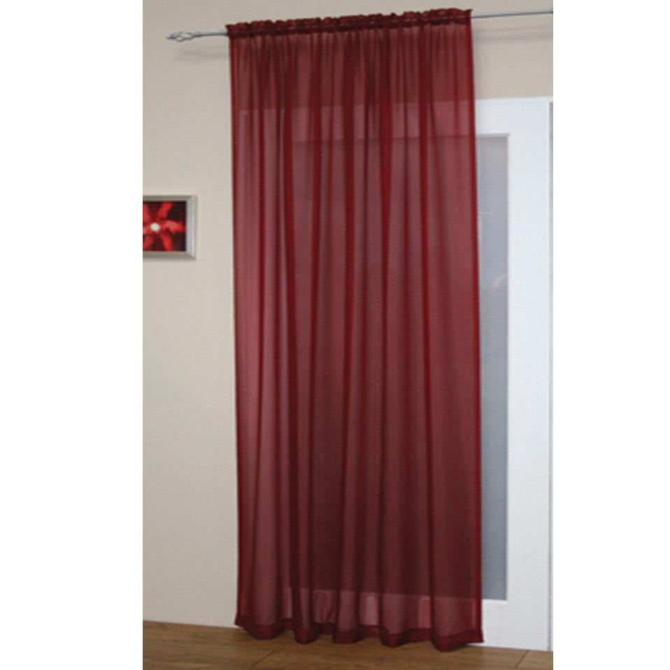 Voile Net Curtain Panel Plain Slot Top / Rod Pocket New | eBay