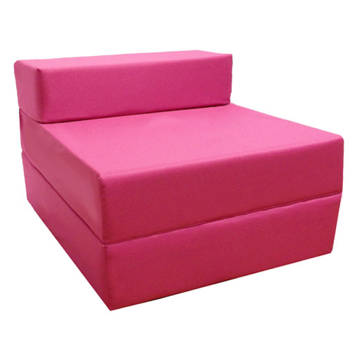 fold out foam guest z bed chair waterproof sleep over in or outdoor futon single ebay. Black Bedroom Furniture Sets. Home Design Ideas