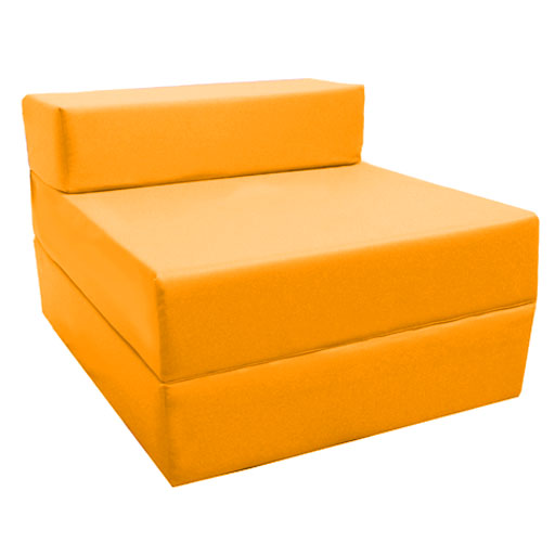 Childrens Wipe Clean Waterproof Fold Out Z bed Sofabed  : Yellow201 from m.ebay.co.uk size 512 x 512 jpeg 40kB