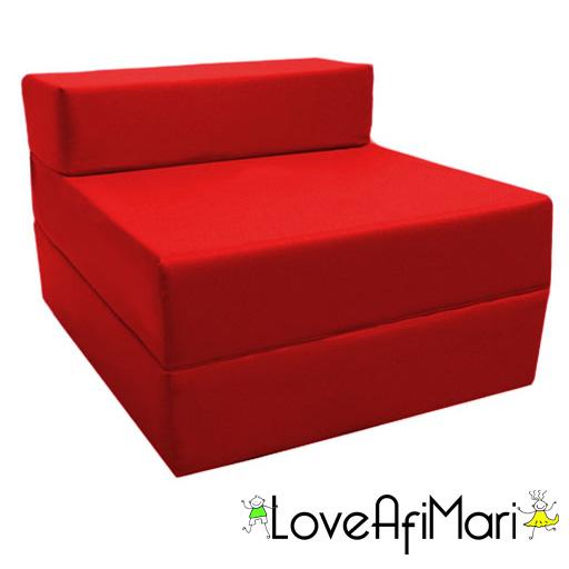 childrens fold out guest z bed sofa chair kids sleepover futon sleeping mattress ebay. Black Bedroom Furniture Sets. Home Design Ideas