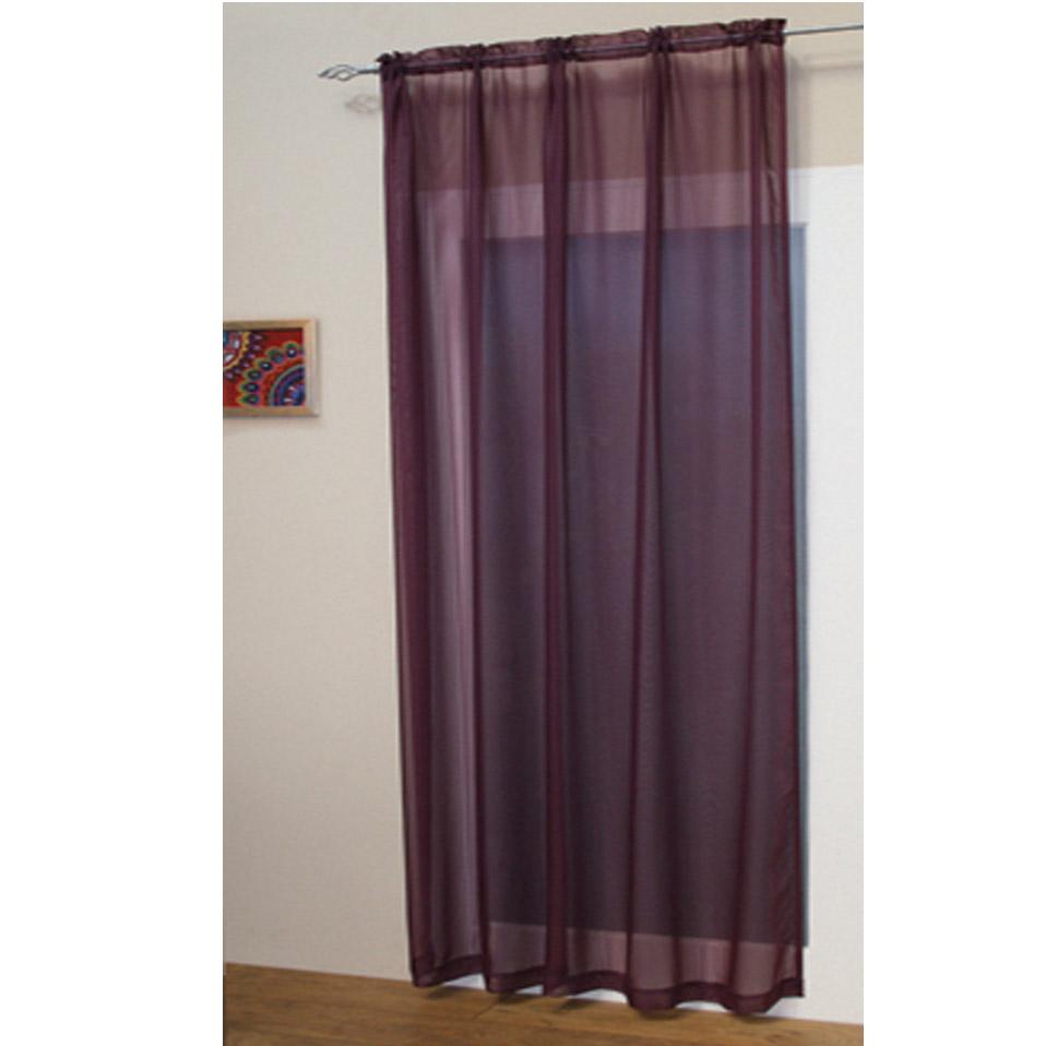 Best Kitchen Curtains: Voile Net Slot Top Rod Pocket Curtain Panel Bedroom