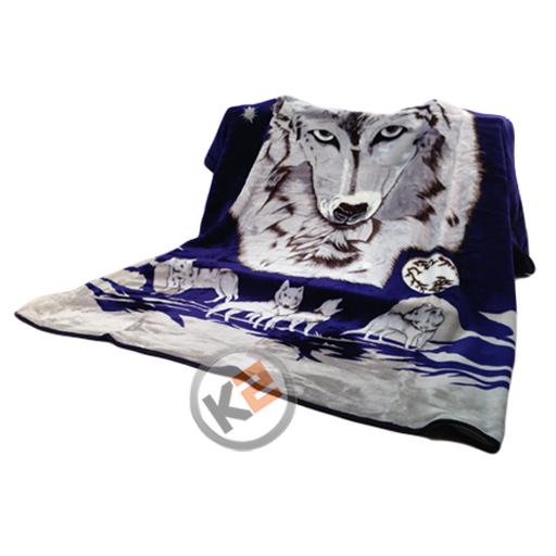 Spartan Fleece Saddle Cover Animal Print: Large Super Soft Animal Design Fleece Travel Blankets Sofa