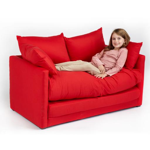 fold out 2 seat sofa guest bed futon uk made budget studio furniture student dig ebay. Black Bedroom Furniture Sets. Home Design Ideas