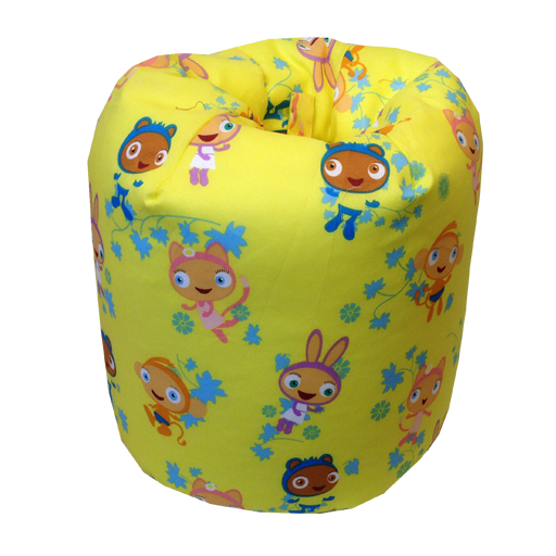 Kids Children S Design Football Cartoon Character Bean Bag