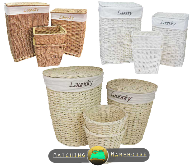 Perfect  Storage Unit  Wicker Baskets Bathroom Storage Hallway Storage