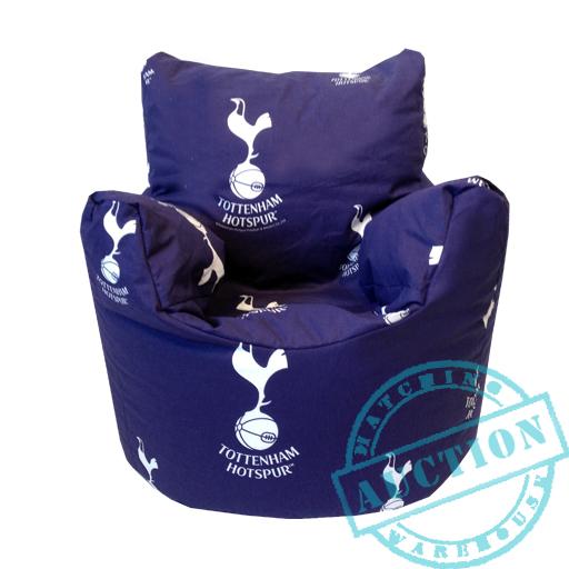 Tottenham Fc Football Club Kids Children S Bean Bag Chair