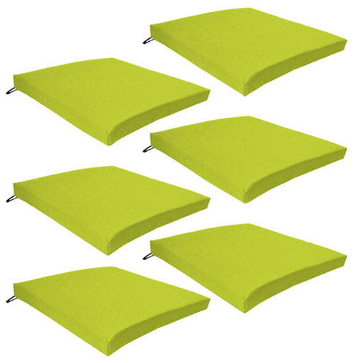 lime green patio furniture. multipacksoutdoorwaterproofchairpadscushionsonlygarden lime green patio furniture p