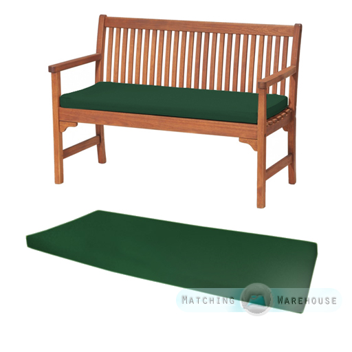 Outdoor Waterproof 2 Seater Bench Swing Seat Cushion ONLY Garden Furniture