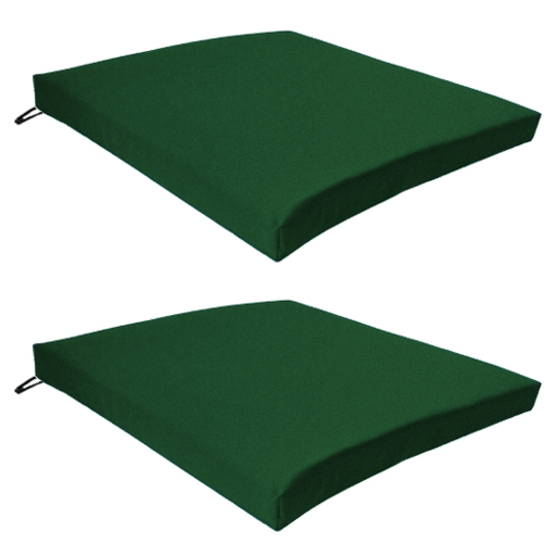 Green outdoor indoor home garden chair floor seat cushion - Coussin exterieur impermeable ...