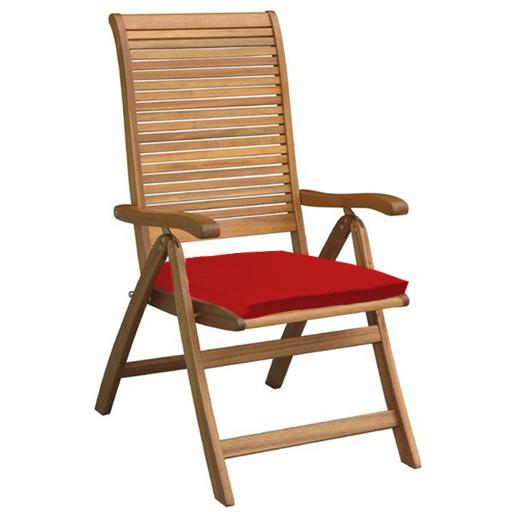 Red Outdoor Indoor Home Garden Chair Floor Seat Cushion