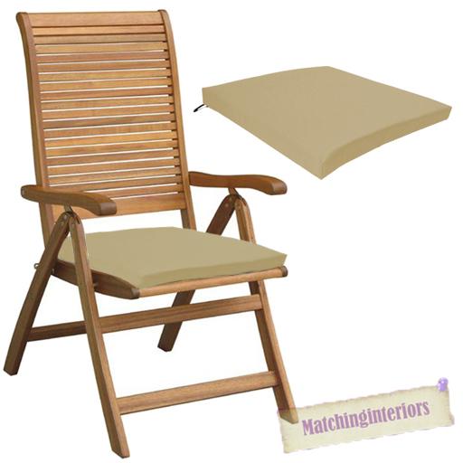 beige outdoor indoor home garden chair floor seat cushion pads only
