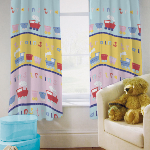 Trains Childrens Bedding Kids Toddler Cot Cotbed Duvet Covers ...