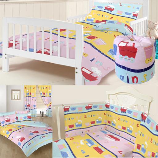 Treni biancheria da letto per bambini bambini bambini culla lettino copripiumini - Biancheria da letto bambini ...
