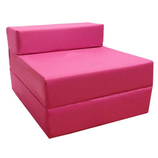 chauffeuse sofa invit rose en z studio etudiant ebay. Black Bedroom Furniture Sets. Home Design Ideas